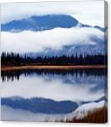 Rainy Day Reflections Canvas Print