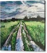 Rainy Day Canvas Print