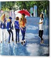 Rainy Days And Mondays Canvas Print