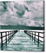 Rainy Days In Summerland 2 Canvas Print