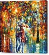 Rainy Evening Canvas Print