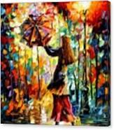 Rainy Mood Canvas Print