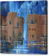 Rainy Night At The Pueblo Canvas Print