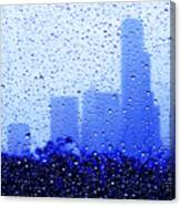 Rainy Seattle C010 Canvas Print