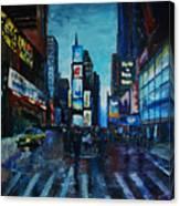 Rainy Times Canvas Print