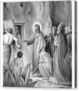 Raising Lazarus Canvas Print