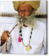 Rajasthani Elder Canvas Print