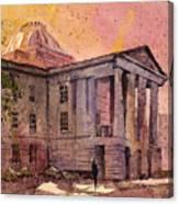 Raleigh Capital Canvas Print