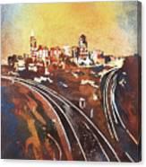 Raleigh Sunrise II Canvas Print