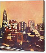 Raleigh Sunrise IIi Canvas Print
