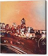 Raleigh Sunrise Iv Canvas Print