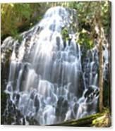 Ramona Falls-ii Softer Canvas Print