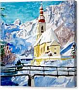 Ramsau Parish Canvas Print
