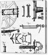 Ramsdens Dividing Engine, 18th Century Canvas Print
