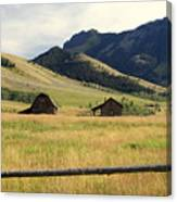 Ranch Along Tom Miner Road Canvas Print