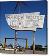 Ranch House Cafe Canvas Print
