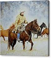 Ranch Rider Canvas Print