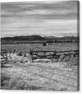 Ranch Road Canvas Print