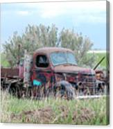 Ranch Truck Canvas Print