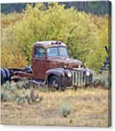 Ranch Truck II Canvas Print