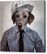 Rancher Dog Canvas Print