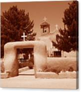 Ranchos De Taos Church   New Mexico Canvas Print