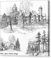 Randolph Macon College Canvas Print