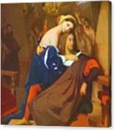 Raphael And Fornarina 1840 Canvas Print