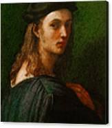 Raphael Portrait Of Bindo Altoviti Canvas Print