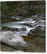 Rapids On The Washougal River Canvas Print