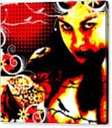 Rapturous Fascination Canvas Print