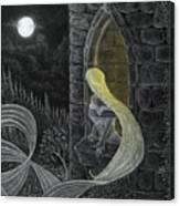 Rapunzel By Night Canvas Print