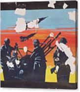 The Colour Of War Canvas Print
