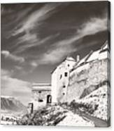 Rasnov Fortress Canvas Print