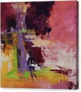 Raspberry Beret Canvas Print