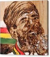 Rastaman Canvas Print