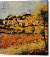 Rasteau Vaucluse  Canvas Print
