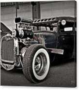 Rat Rod Scene 3 Canvas Print