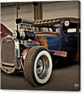 Rat Rod Scene Canvas Print