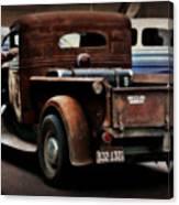 Rat Rod Work Truck Canvas Print