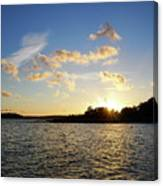 Raumanmeri Sunset Canvas Print