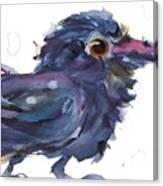 Raven 3 Canvas Print