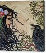 Raven Beauties Canvas Print