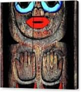Raven Child Canvas Print