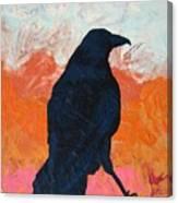 Raven II Canvas Print