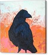 Raven IIi Canvas Print