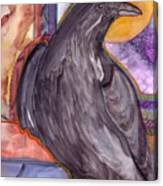 Raven Steals Sunlight Canvas Print