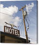 Rawhide Motel Canvas Print