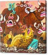 Rawhide O.d. Canvas Print