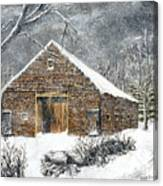 Ray Emerson's Old Barn Canvas Print